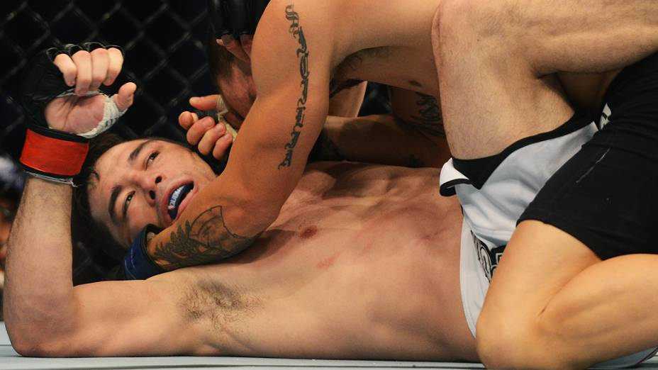 Rony Jason no UFC Rio III, realizada na HSBC Arena, Barra da Tijuca