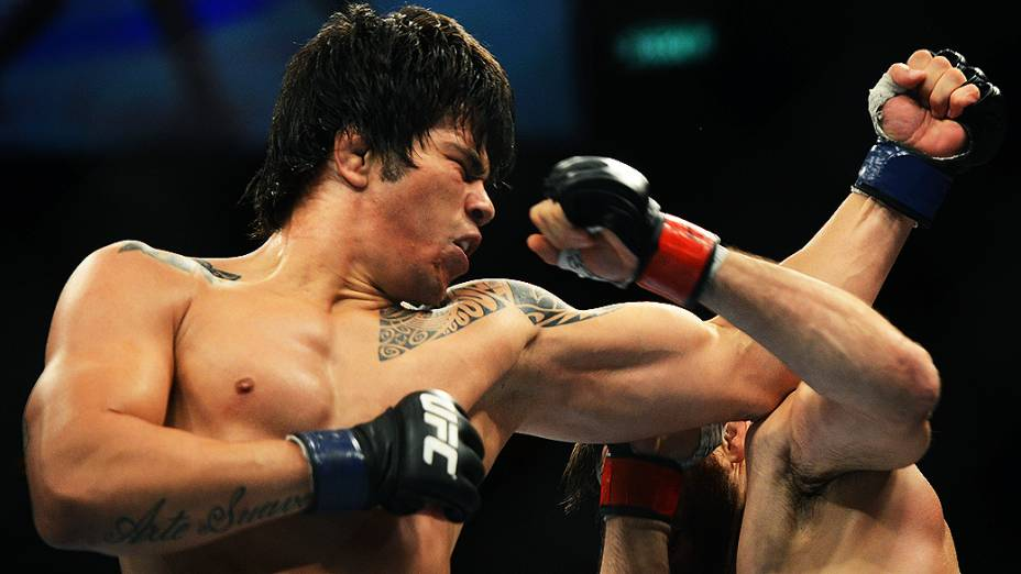 Erick Silva foi derrotado pelo americano Jon Fitch no UFC Rio III, realizada na HSBC Arena, Barra da Tijuca