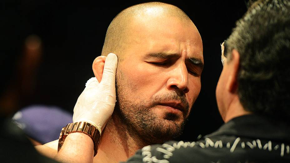 Glover Teixeira no UFC Rio III, realizada na HSBC Arena, Barra da Tijuca