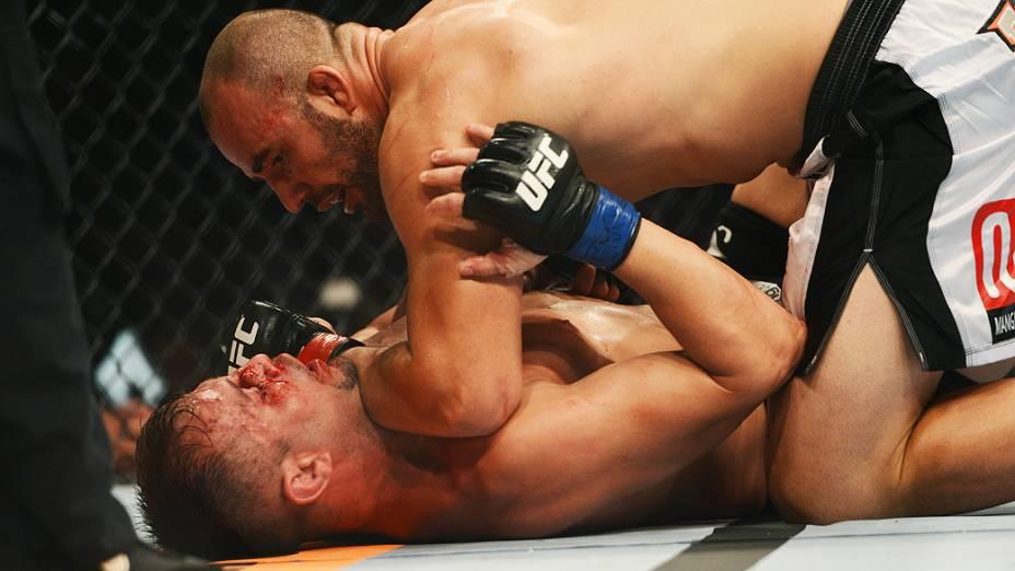 Glover Teixeira contra Fábio Maldonado no UFC Rio III, realizada na HSBC Arena, Barra da Tijuca