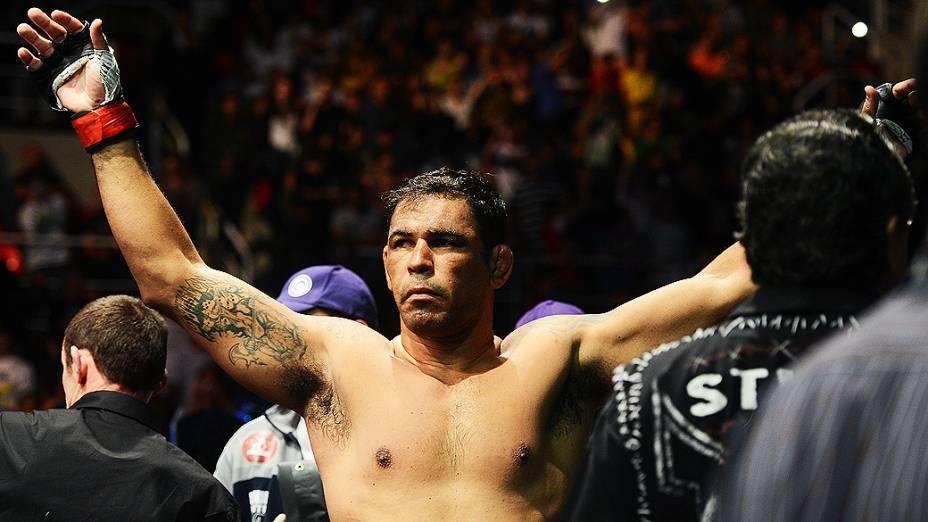 Rodrigo Minotauro vence Dave Herman por finalização no UFC Rio III, realizada na HSBC Arena, Barra da Tijuca