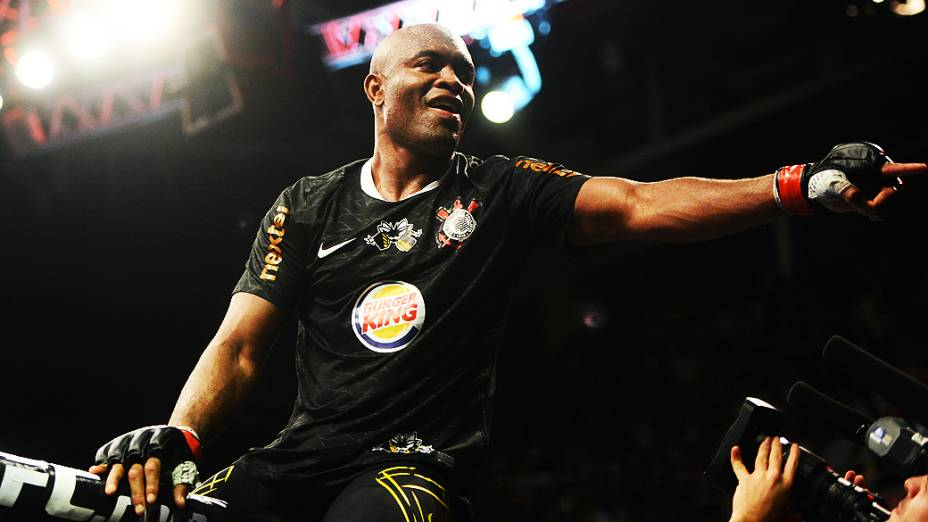 Anderson Silva vence Stephan Bonnar no UFC Rio 3, na HSBC Arena, na Barra da Tijuca