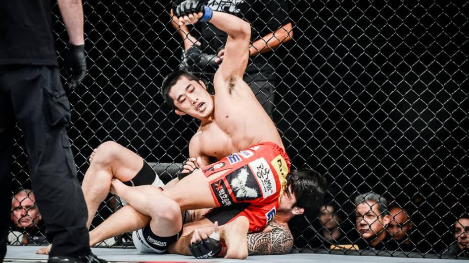 UFC Fight Night, em Barueri: Dong Hyun Kim nocauteia Erick Silva