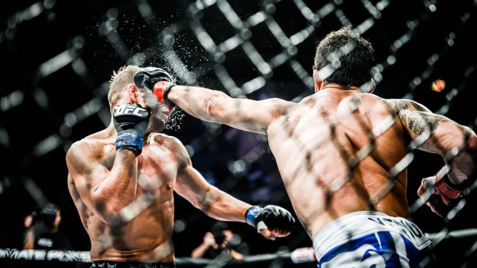 UFC Fight Night, em Barueri: Raphael Assunção vence TJ Dillashaw