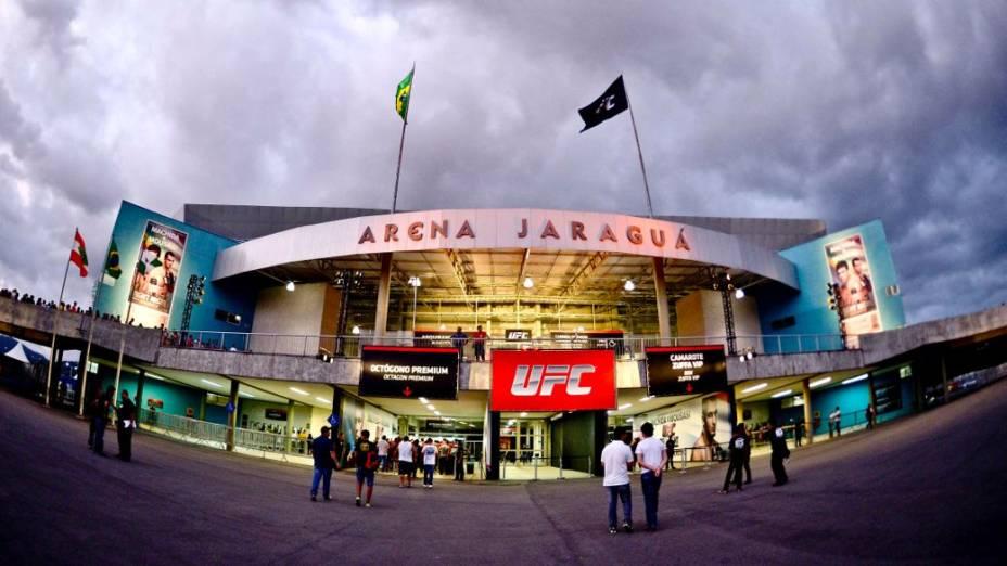 UFC Jaraguá 2: a chegada do público