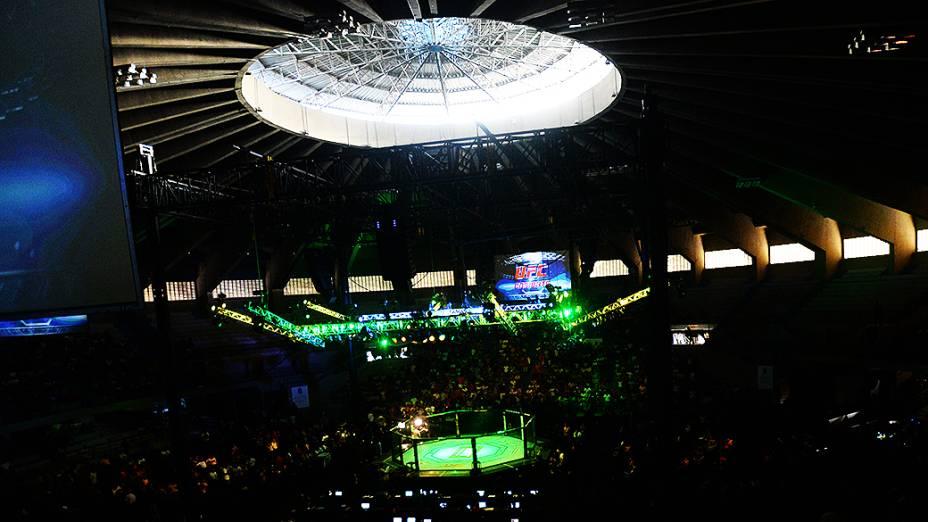 UFC Fight Night em Natal: o Ginásio Nélio Dias