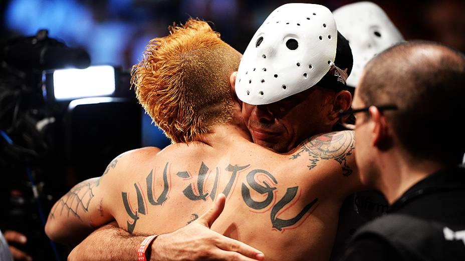 UFC Fight Night em Natal: Rony Jason comemora