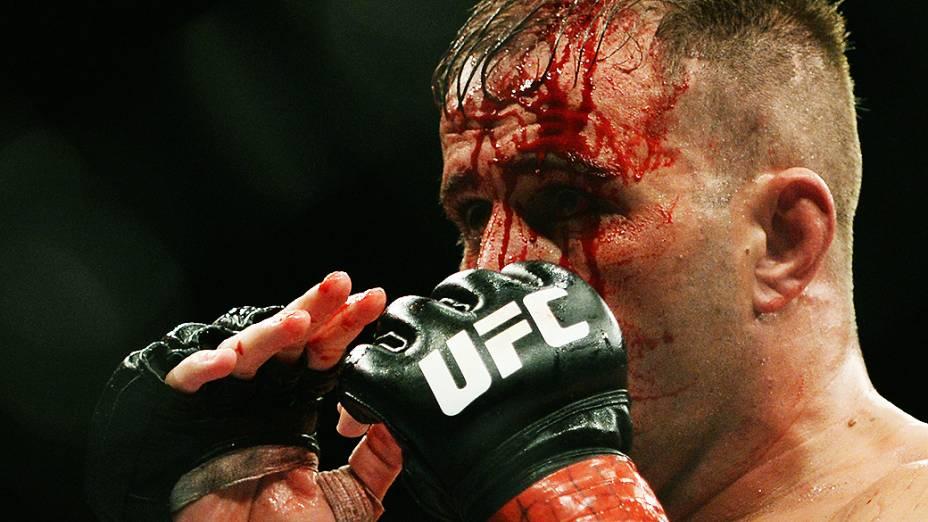 UFC Fight Night em Natal: o brasileiro Fabio Maldonado em ação