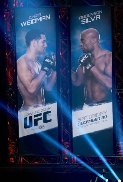 UFC 168: o cenário da pesagem