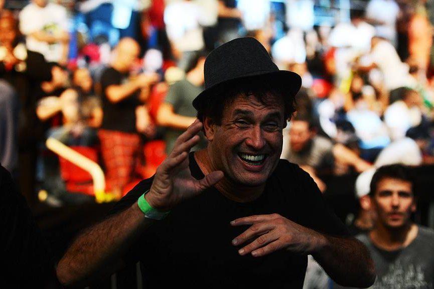 Sérgio Mallandro prestigiou o UFC Rio III, realizada na HSBC Arena, Barra da Tijuca