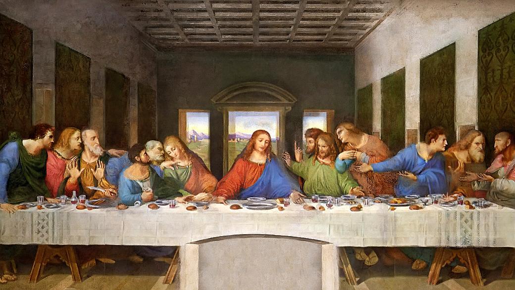 'A Última Ceia', de Leonardo da Vinci