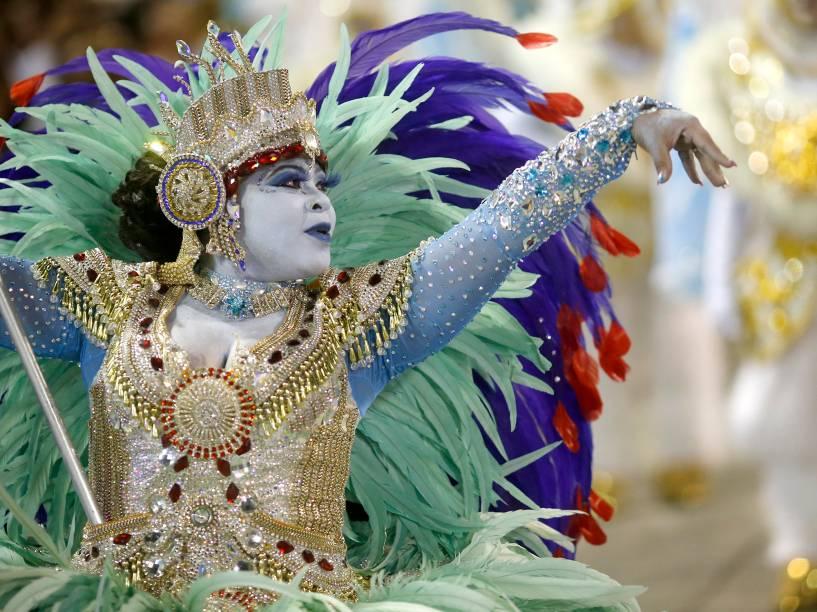 União da Ilha é a segunda escola do Grupo Especial a desfilar na Sapucaí, no Rio