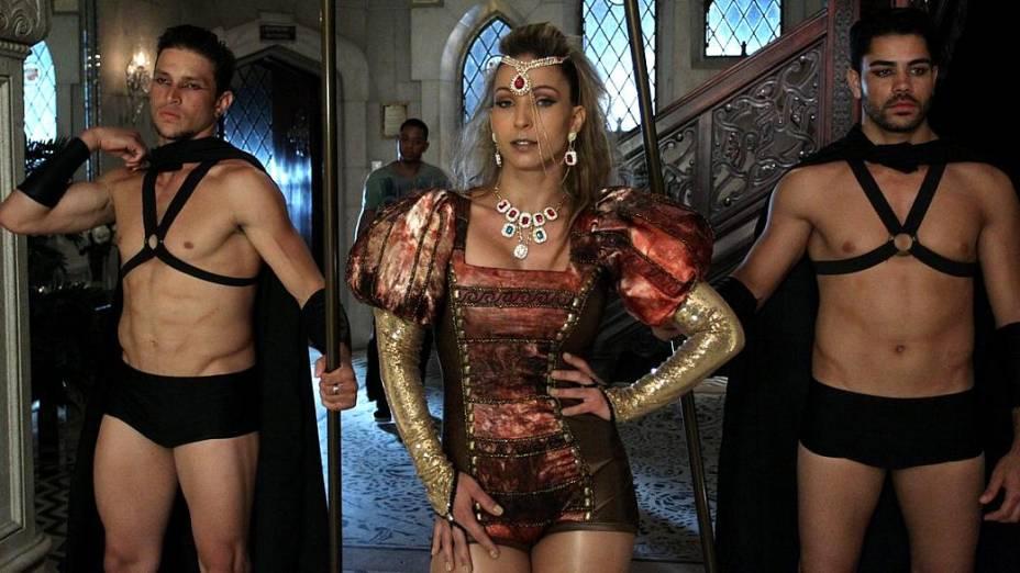 Valesca Popozuda grava clipe da música Beijinho no Ombro