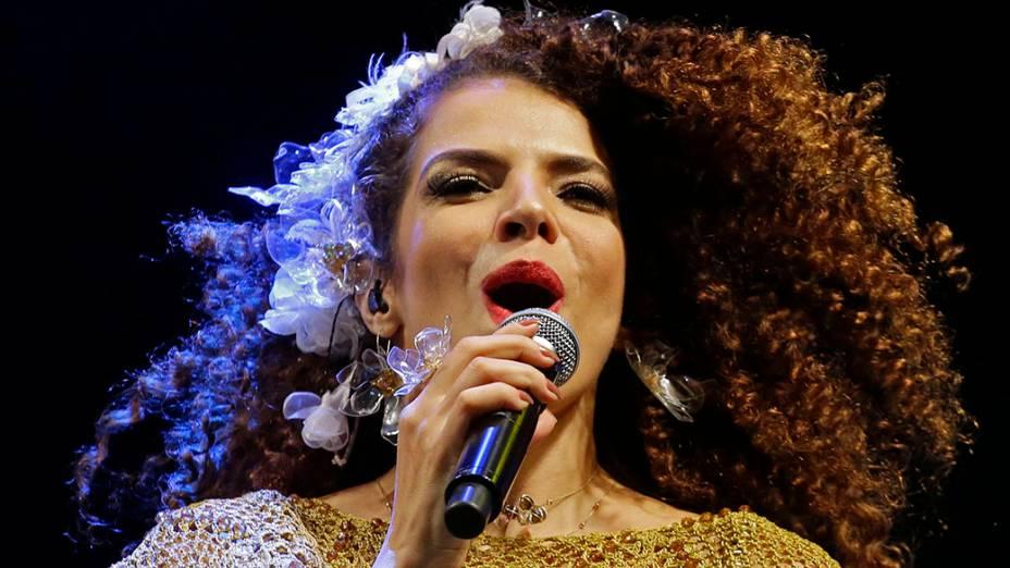 Show da cantora Vanessa da Mata, no Palco Julio Prestes