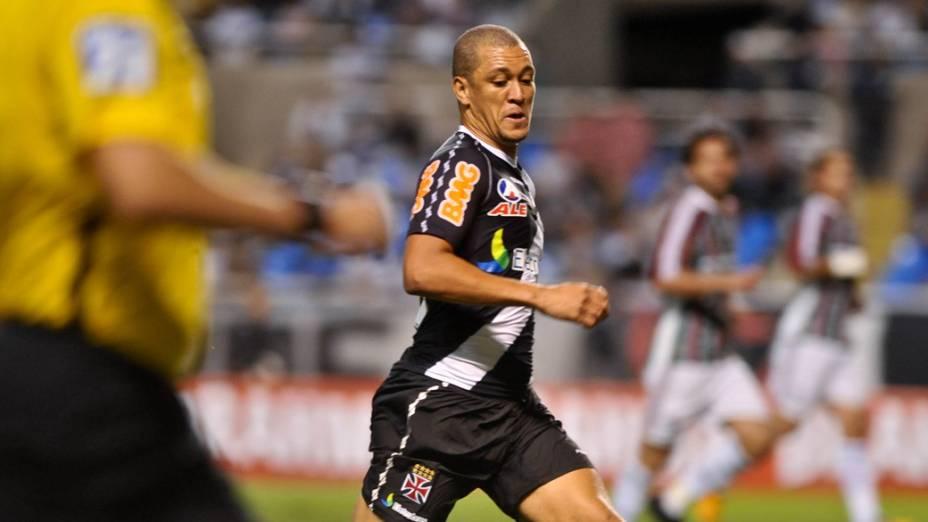 Eduardo Costa, do Vasco, durante partida contra Fluminense, pelo Campeonato Brasileiro - 20/08/2011