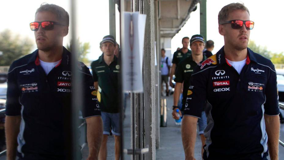 Vettel após treino na Hungria