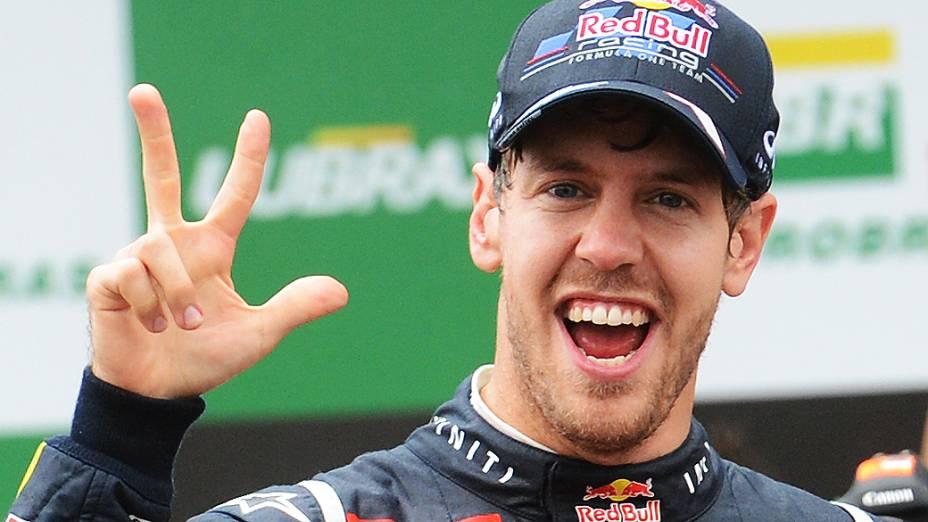Sebastian Vettel campeão 2012 da Fórmula -1