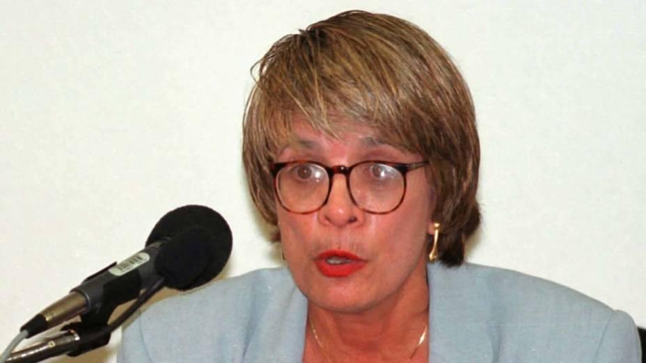 Regina Célia Peres Borges, ex-diretora do Prodasen, Centro de Informática e Processamento de Dados do Senado Federal