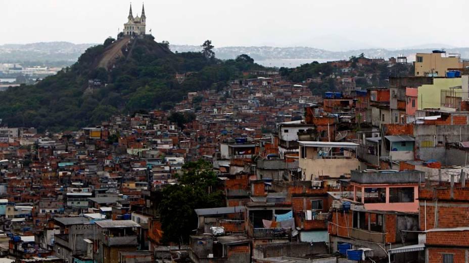 Visão geral da Vila Cruzeiro, Rio de Janeiro - 26/11/2010