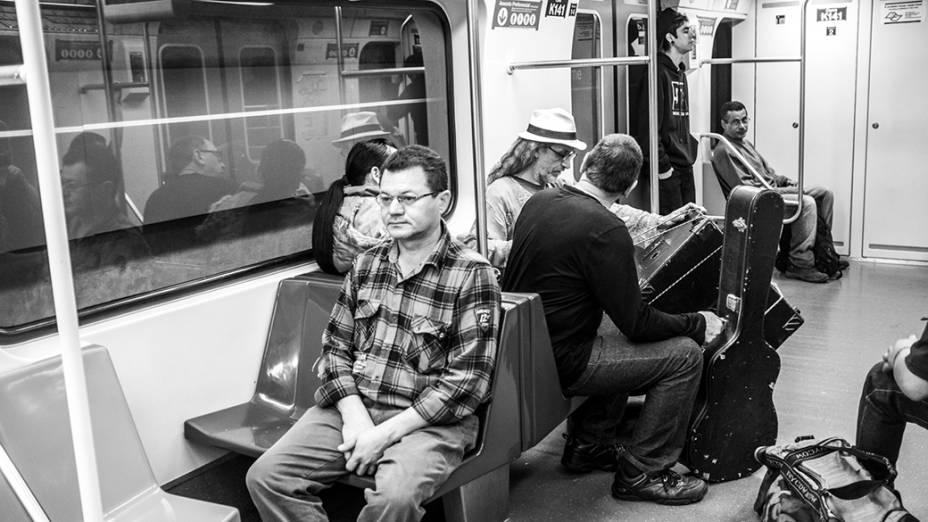 Metrô e CPTM funcionam sem interrupção durante a Virada Cultural, em São Paulo