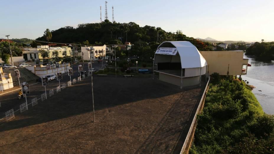 Vista da cidade de Itaocara, a primeira prefeitura conquistada pelo PSOL