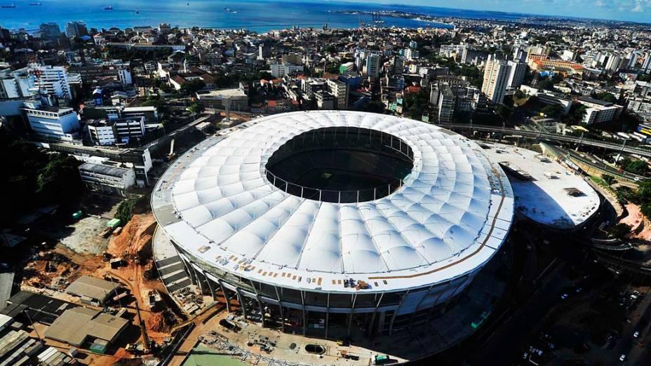 Estádio Fonte Nova, em Salvador