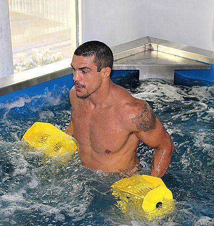 Vitor Belfort, em treinamento nos Estados Unidos