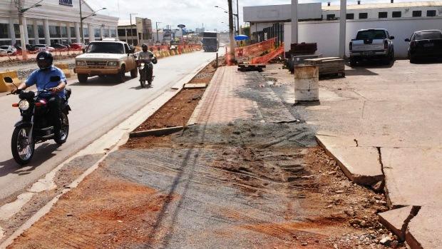 Av. da FEB: um dos pontos de maior congestionamento de Cuiabá (MT) fica na saída do aeroporto
