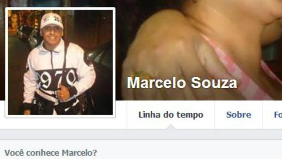 O Facebook de Marcelo Souza, torcedor do Vasco da Gama