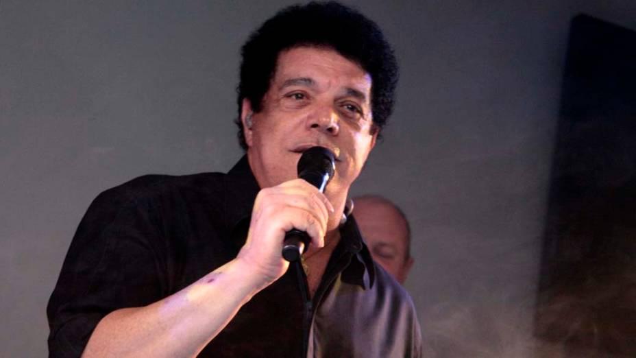 Cantor Wando em apresentação, no Rio de janeiro
