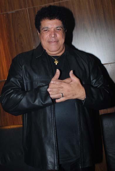 Cantor Wando em festa, em São Paulo