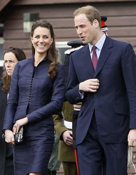 Príncipe William e Kate Middleton visitam o Witton Country Park em Darwen, abril de 2011