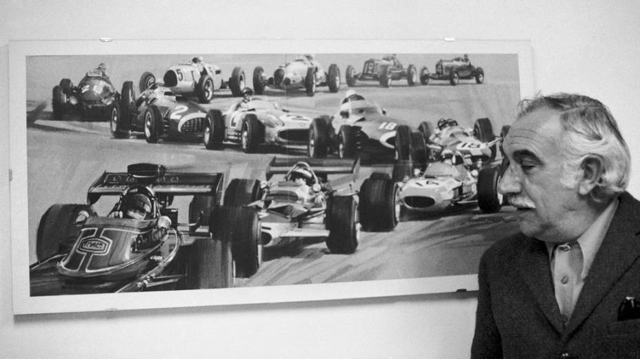 Wilson Fittipaldi, o Barão, nos anos 1970, década em que tanto Emerson como Wilsinho correram na Fórmula 1