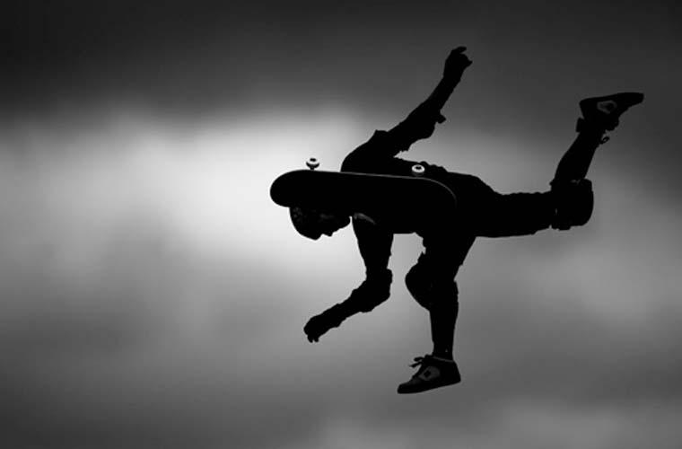 Entre os vencedores, o brasileiro Daniel Kfouri. Esta imagem de um skatista na Mega Rampa, em São Paulo, deixou Kfouri em terceiro lugar na categoria Esportes Ação - Foto Única.