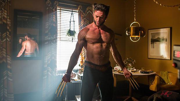 Hugh Jackman em cena do filme X-Men – Dias de um Futuro Esquecido