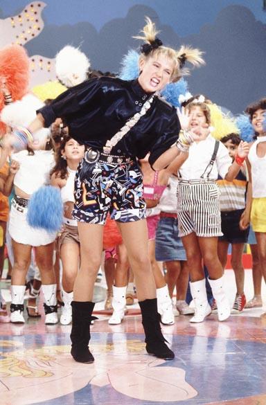 Xuxa no programa Xou da Xuxa da Rede Globo, 1986