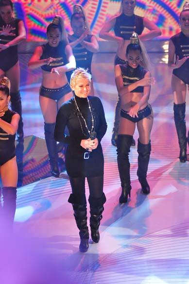 Gravação do programa em comemoração aos 25 anos da Xuxa na Rede Globo, 2011