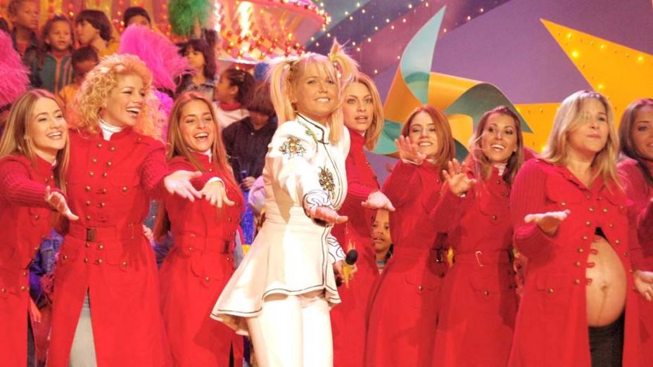Xuxa com as ex-paquitas, 2006