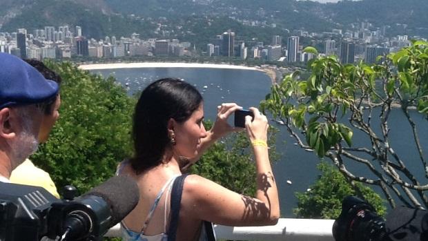 A blogueira cubana Yoani Sánchez visita o Rio de Janeiro