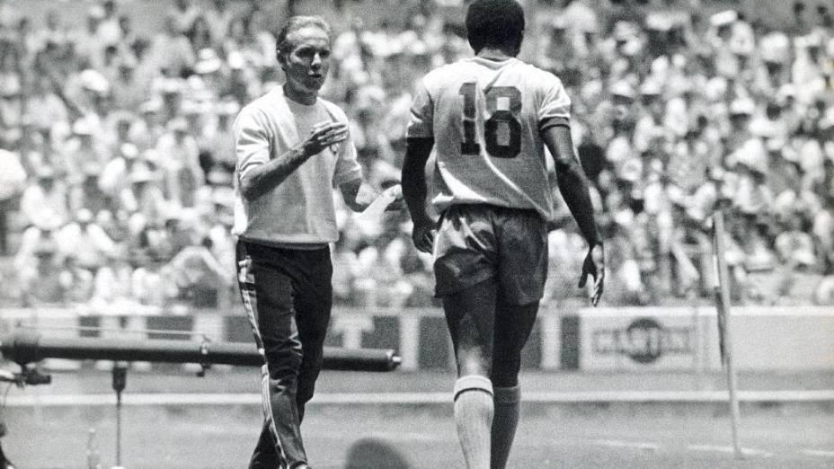 Zagallo foi o técnico da seleção brasileira tricampeã na Copa de 1970, no México