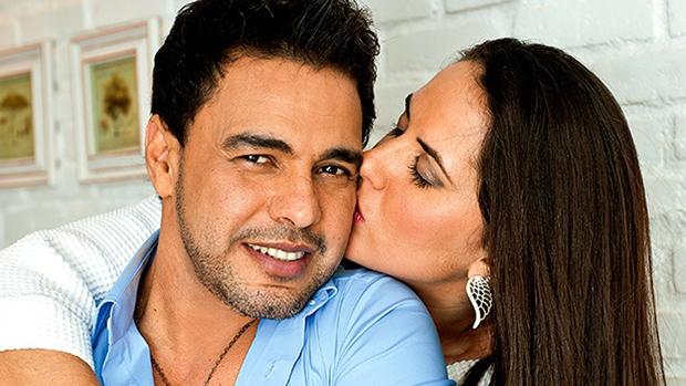 Zezé Di Camargo e a namorada, Graciele Lacerda