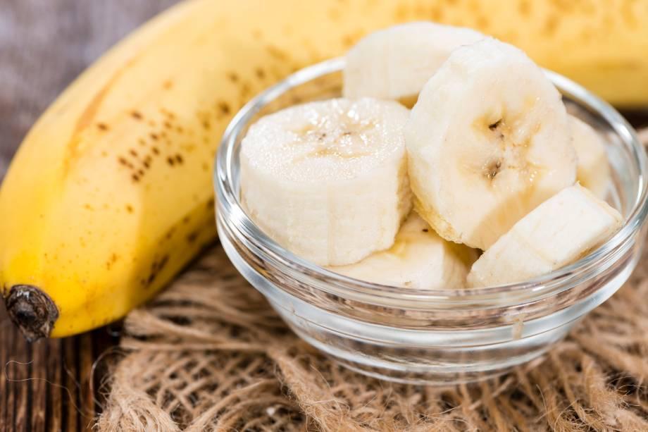 1/4 - 1 banana média