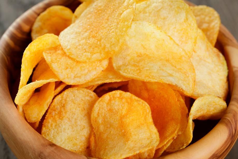 4 - 6 Batatas chips