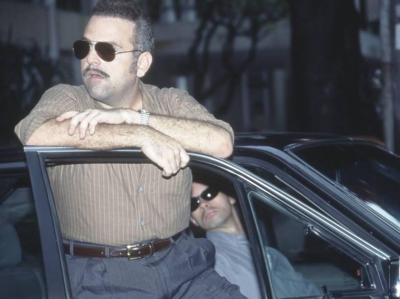 Guilherme Karam na novela Pecado Capital, da Rede Globo. 1998