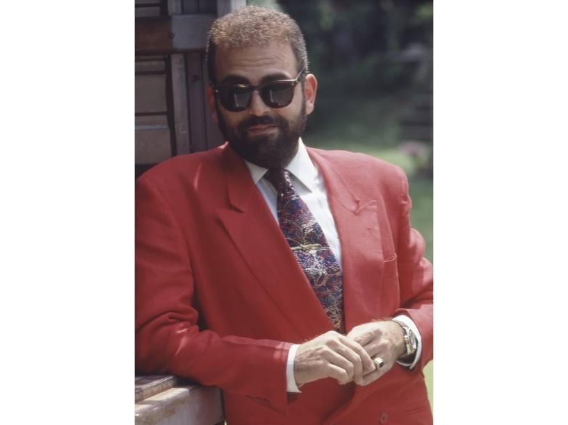 Guilherme Karam na novela Perigosas Peruas, da Rede Globo. 1992