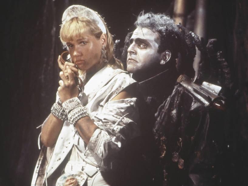 Guilherme Karam no filme Super Xuxa Contra o Baixo Astral, em 1988