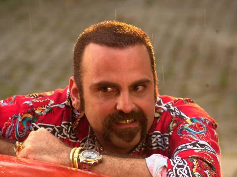O ator Guilherme Karam, em O Clone, de 2001