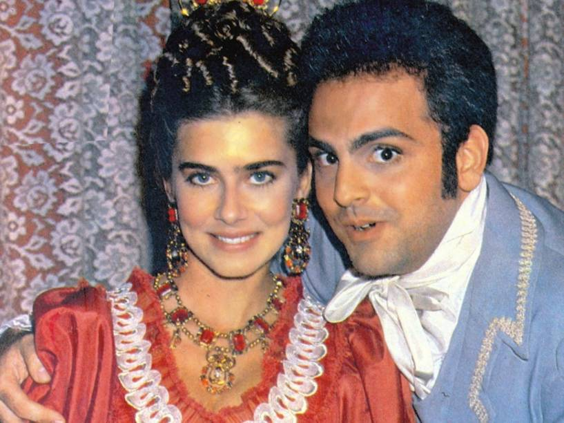 Guilherme Karam com Maitê Proença em Dona Beja (TV Manchete, 1986)