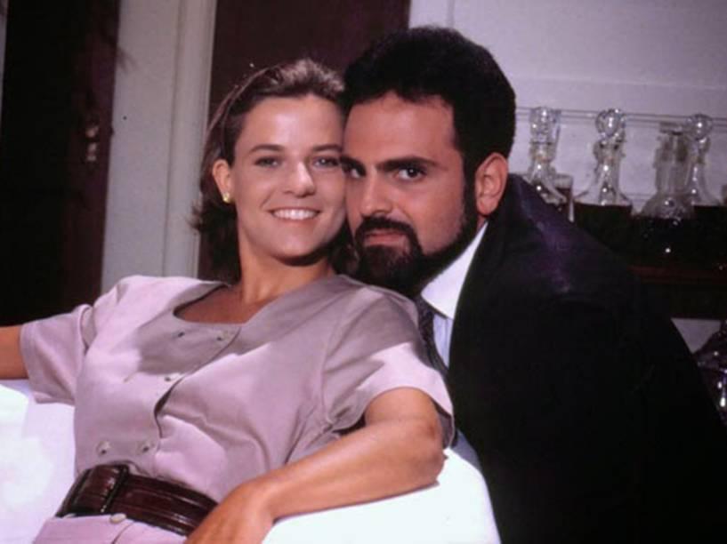 Guilherme Karam e Vera Zinmerman, em Meu Bem, Meu Mal (1990)