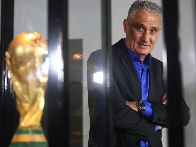 Tite, novo técnico da seleção brasileira